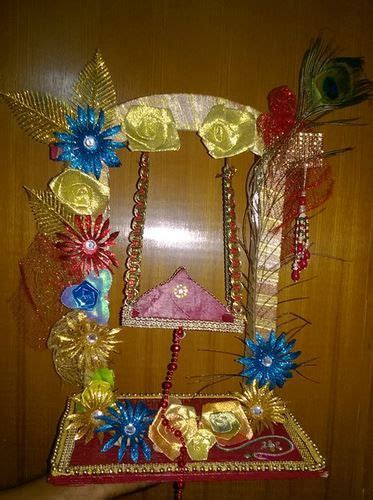 janmashtami jhula decoration ideas decoration  pooja