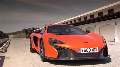 Orange Mclaren 650s Coupe Interior And Exterior