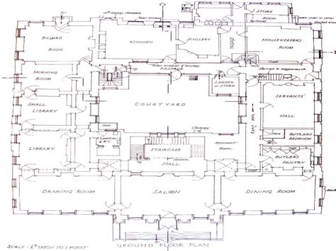 mansion floorplans historic mansions floor plans