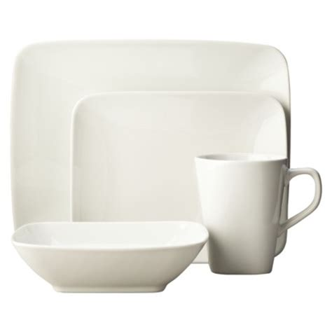 glossy white rectangular dinnerware for the home pinterest