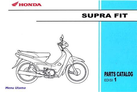 Suku Cadang Honda Beat Pdf xmal motor bengkel sepeda motor katalog suku cadang sparepart honda supra fit