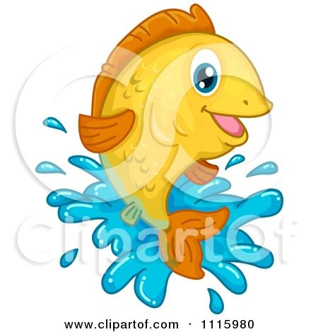 pesce clipart fish jumping out of water clipart clipartsgram