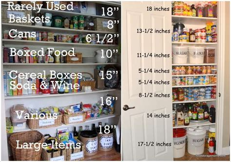 Pantry Shelf Height by Creations 15 Smart Pantry Storage And Organization Hacks