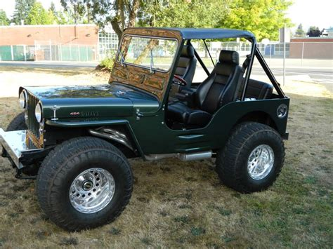 Custom Willys Jeep 1946 Jeep Willys 454 Complete Frame Custom Cars