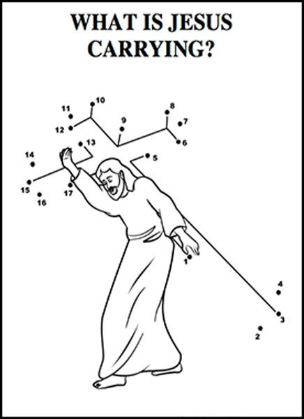 coloring pages of jesus carrying the cross jesus carrying the cross coloring page
