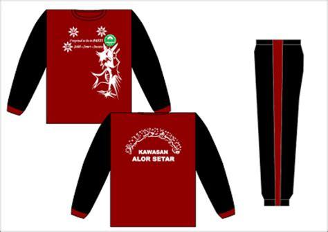 design baju tadika produk textile baju sukan pasti