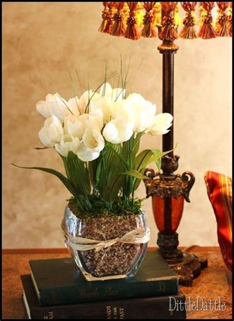 How To Arrange Flowers In A Tall Vase Dollar Tree Floral Arrangement Crafts Pinterest