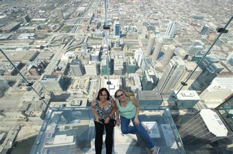 Deck Boxes Canada by Skydeck Chicago I Walked Out On The Ledge Would You