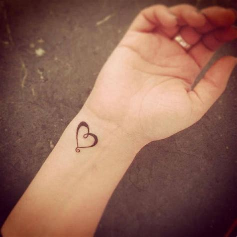 simple heart tattoos on wrist 44 tattoos for your loved ones small tattoos