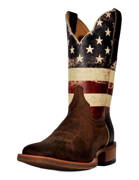 cinch boots mens cinch western boots mens national flag square toe cowboy