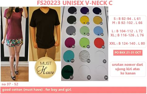 Kualitas Terbaik Baju Jumpsuit Wanita Rompers V Neck Size M 1 unisex v neck c supplier baju bangkok korea dan