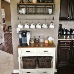 kitchen coffee bar ideas 25 best ideas about home coffee bars on pinterest home