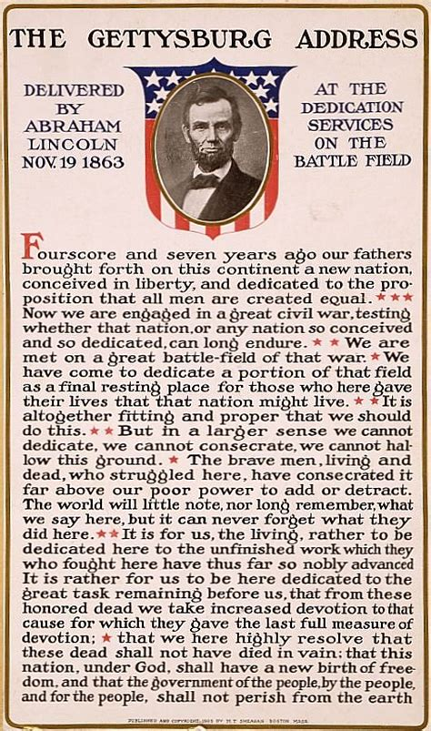 make a poster about abraham lincoln gettysburg address gettysburg address simple the free
