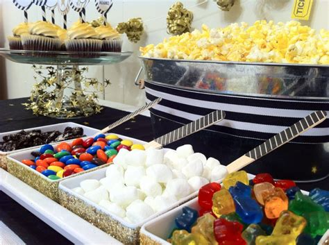 Popcorn Bar Toppings by Cupcake Wishes Birthday Dreams Recap Oscars