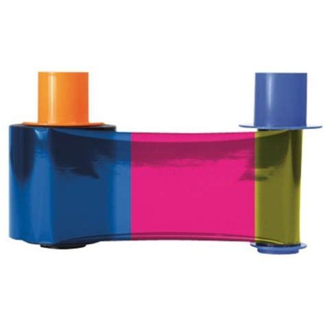 Fargo Color Ribbon Ymcko Cartridges 250 Images Prints Pn 45000 fargo 45200 ribbon 500 prints ymcko easybadges