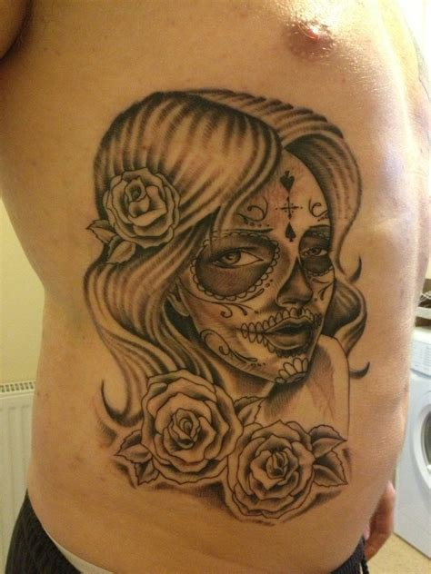 sugar skull woman tattoo designs sugar skull by nexivwho on deviantart
