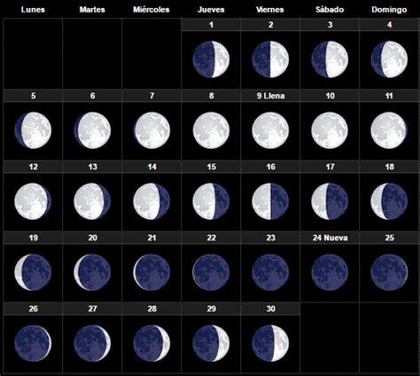 etapas de la luna 2016 calendario lunar noviembre 2017 esoterismos com
