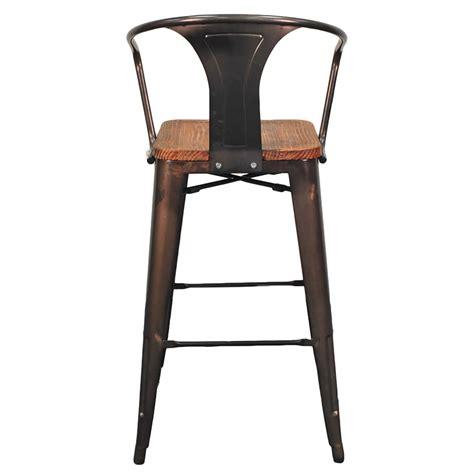 metro modern furniture metro modern gun metal bar stool eurway furniture