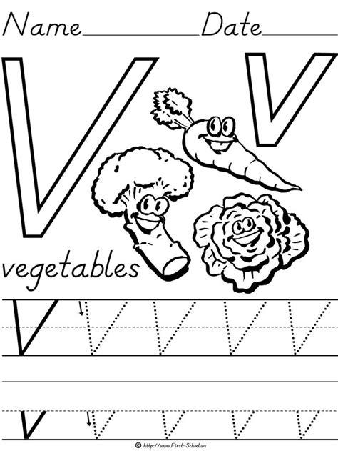 printable templates of vegetables v is for vegetables preschool ideas pinterest
