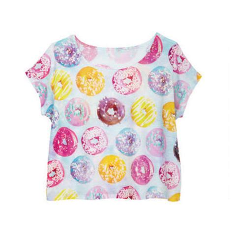 Donut Top donut crop top on the hunt