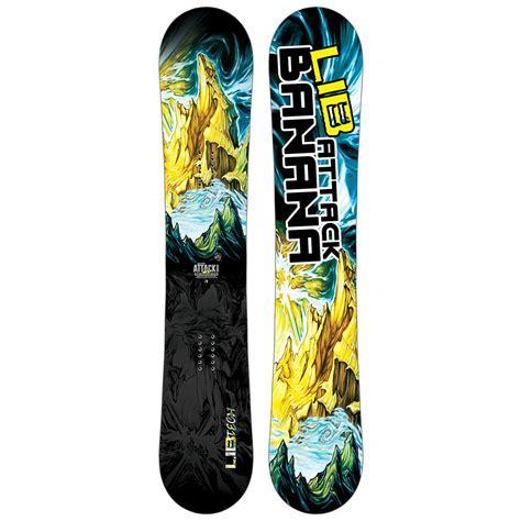 lib tech attack banana lib tech attack banana snowboard s glenn