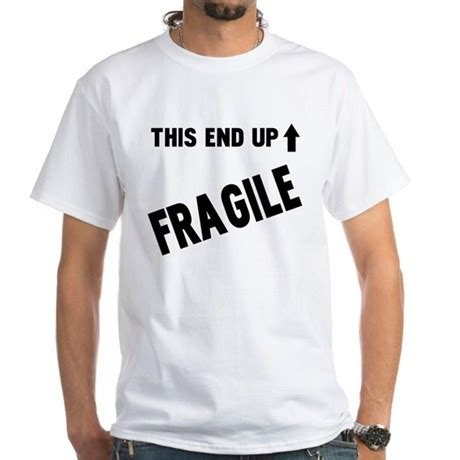 Tshirt Fragile Up a story fragile t shirt clothing mugs
