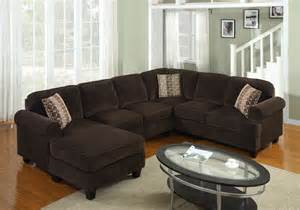 Brown Sectional Sofas Fabric Sectional B 727 Modern Furniture