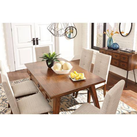 centiar dining room table signature design by centiar rectangular dining room