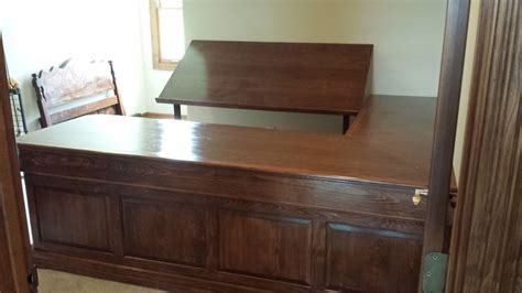 Distressed Cabinets Burnished Walnut Stain On German Beech Lindsey Custom