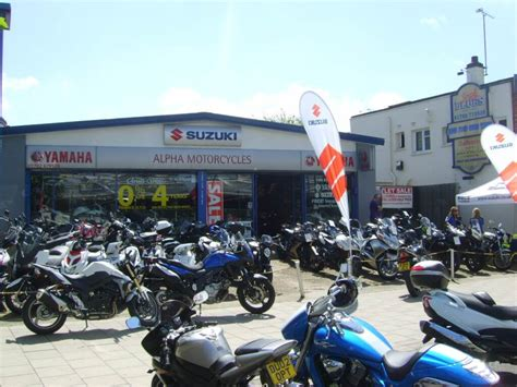 Motorcycle Dealers In Uk by Suzuki Motorcycles Yamaha Motorcycles Alpha