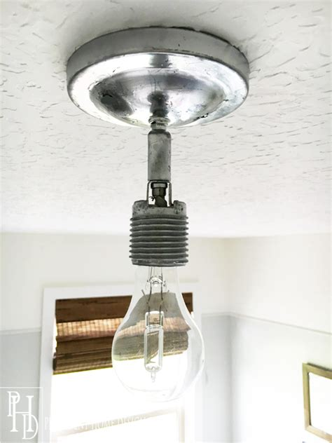 Diy Ceiling Lights Diy Orb Ceiling Light Fixture