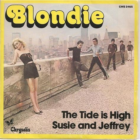tide is high blondie the tide is high suzie and jeffrey by blondie sp with