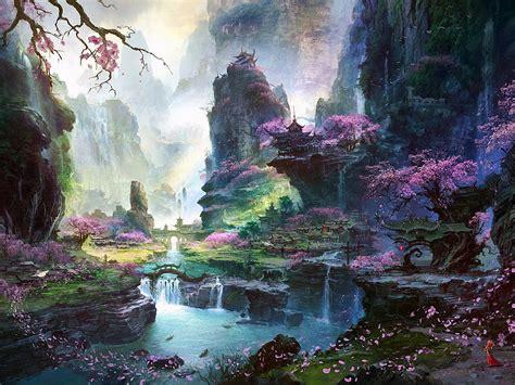 imagenes de paisajes orientales fant 225 stico mundo de la pintura los paisajes orientales de
