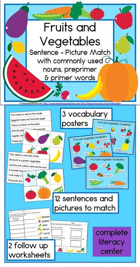 9 fruits learning center 110 best letter f images on kindergarten