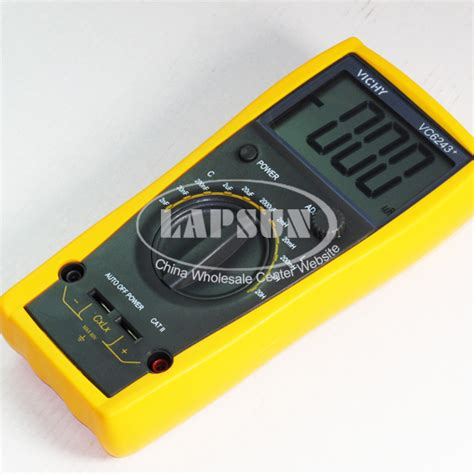 capacitor test multimeter capacitor capacitance digital test multimeter lc meter inductance 2mh 20h vc6243 ebay