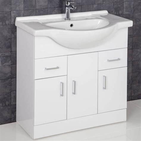 White Gloss Bathroom Furniture Uk by Bathroom Furniture Essence White Gloss Plumbworld