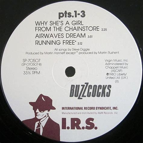 Irs Records Cvinyl Label Variations Irs Records