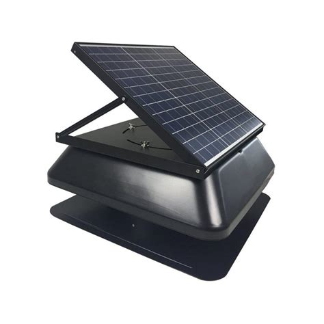 solar powered attic fan solar powered adjustable attic fan