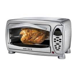 Euro Pro Toaster Ovens Euro Pro 0 7 Cu Ft Toaster Oven With Convection Cooking