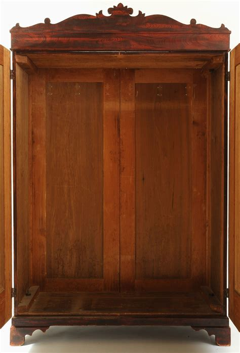 painted wardrobe armoire lot 301 grain painted wardrobe or armoire poss southern