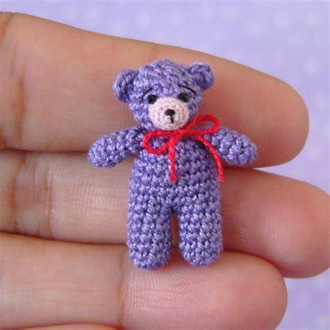 free mini amigurumi crochet patterns free miniature crochet teddy bear pattern manet for