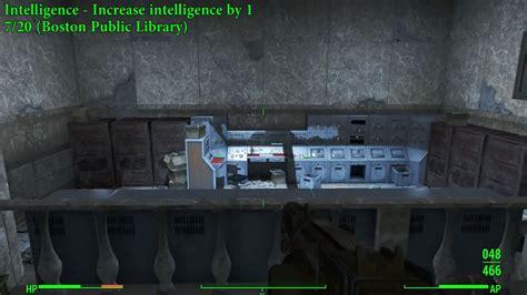 fallout r bobbleheads fallout 4 intelligence bobblehead location