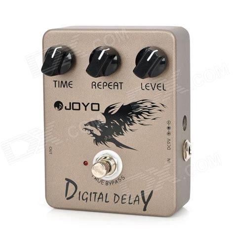 Promo Effect Gitar Joyo Digital Delay Jf 08 Original T1910 2 joyo jf 08 digital delay guitar effect pedal rosybrown