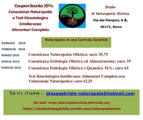 test kinesiologico intolleranze home naturopata dr ssa carmela gabriele