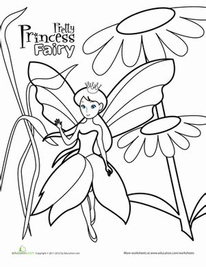 preschool coloring pages princess color the princess coloring page education