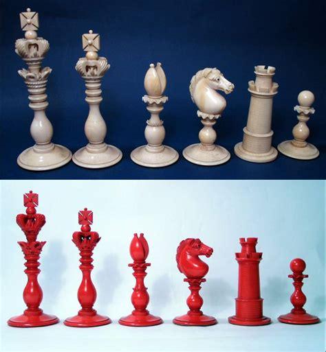 decorative chess set calvert pattern ivory decorative chess set