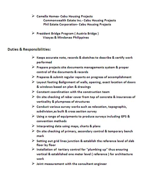 Land Surveyor Resume land surveyor resume review