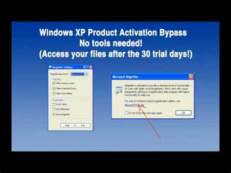 windows xp trial resetter xp sp3 reset activation timer global forfree