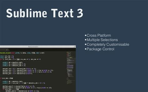 sublime text 3 theme manager front end tools and workflows