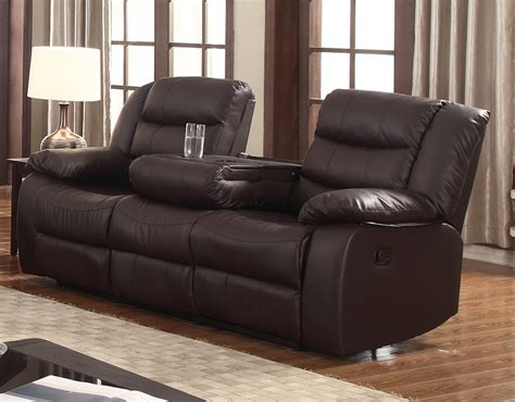 sectional sofas with recliners reclining sofa with drop down carrington reclining